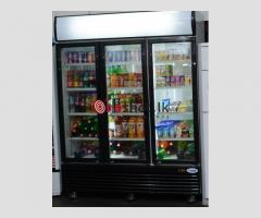 Supermarket 3 Door Refrigerator for sale
