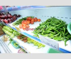 Supermarket Fruits & Vegetable Chiller