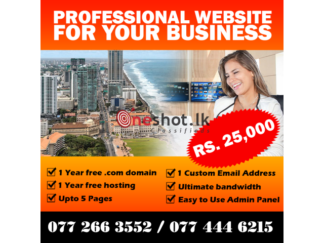 Professional Web development for Any Business
