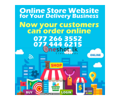 Online Store Website for Your Business